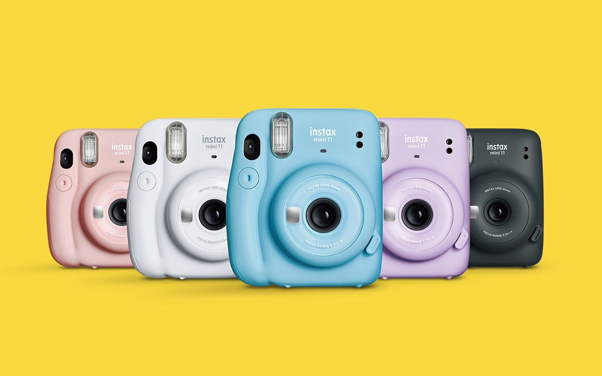 Instax Mini 11 . Now even more ways to give.